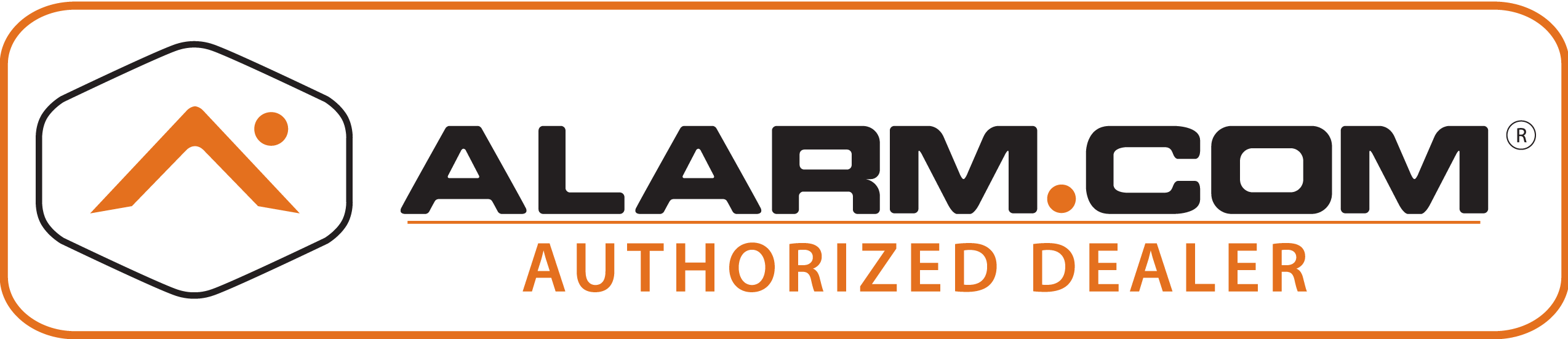 Authorized dealer of Alarm.com